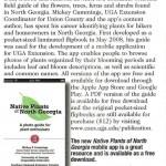 Native Plants of Georgia App